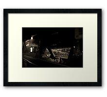 CABIN' HOME Framed Print