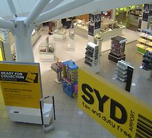 Inside Sydney International Airport by Amy Hing-Young