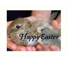 Happy Easter Bunny - NZ Art Print