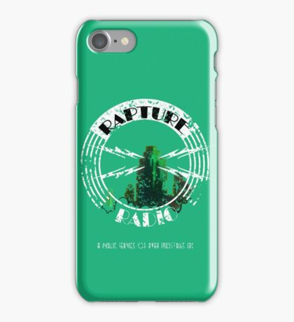 Rapture Radio iPhone Case/Skin