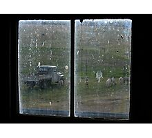 Shearing Shed Window Photographic Print