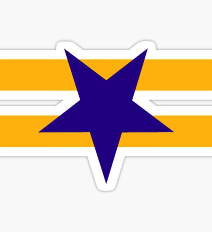 Browncoat (Independents) Flag - Inverted Star Sticker