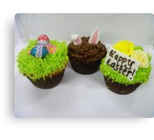 Delicious Easter Cupcakes - By Haydene -NZ Canvas Print