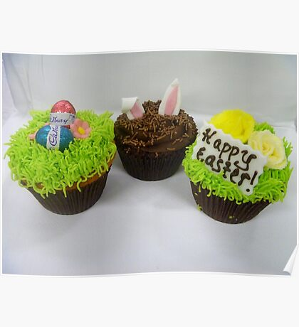 Delicious Easter Cupcakes - By Haydene -NZ Poster