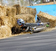Mt. Panorama Crash at 70kph by Bill Fonseca