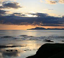 Sunset at Bundoran by Donal O Faogain