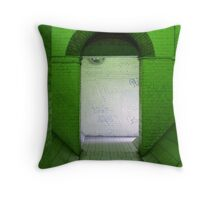 Green Room Throw Pillow