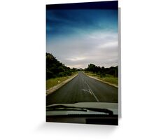 1st Gear All The Way  Greeting Card