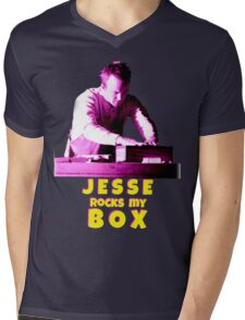 Jesse Rocks My Box! Mens V-Neck T-Shirt