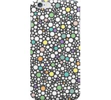 pastel puzzle bubble (dark gray) - pattern  iPhone Case/Skin