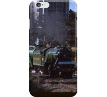 Flying Scotsman & 3801 @ Parramatta 1989 iPhone Case/Skin