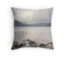 Ennerdale Bridge Throw Pillow