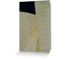 Operatic Tiles Greeting Card