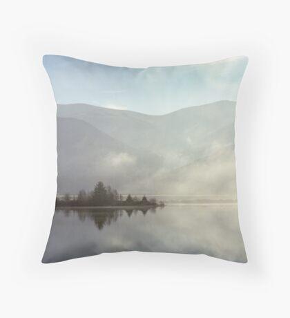 Ennerdale mists Throw Pillow