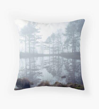 Ennerdale Mist Throw Pillow