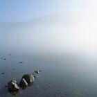 Ennerdale, rising mist. by John Kiely