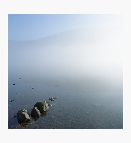 Ennerdale, rising mist. Photographic Print