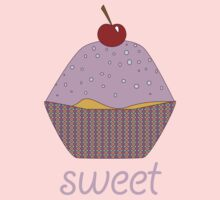 cupcakes are sweet by Jacqueline Fae