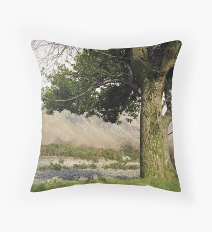 Holly Tree, Wasdale Throw Pillow