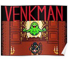 VENKMAN AND SLIMER Poster