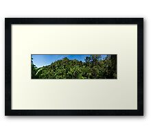 Tamborine Skyline Framed Print
