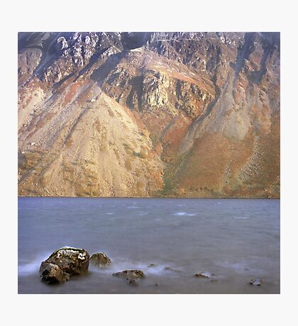 Scree slopes, Wast Water Photographic Print