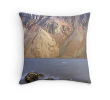 Scree slopes, Wast Water Throw Pillow