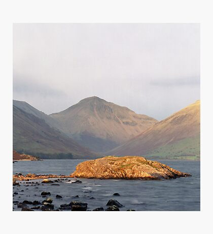 Wast Water, Late Sun Photographic Print