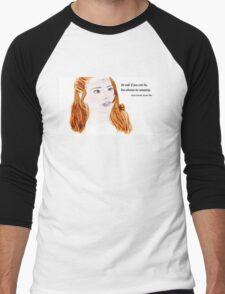 Clara Oswald and Robin Hood Men's Baseball ¾ T-Shirt