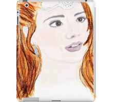 Clara Oswald and Robin Hood iPad Case/Skin