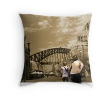 All the Fun of the Fair  Throw Pillow