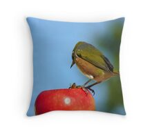 Yes..Yes!! I Know About The Birds & The Bees!!! - Silver-Eye - NZ Throw Pillow