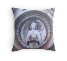 Gravestone detail Throw Pillow