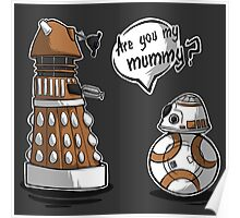 Are you my mummy? - Orange version Poster