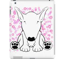 English Bull Terrier Forward Sit iPad Case/Skin