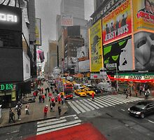 Times Square Crossroads  by Rob Hawkins
