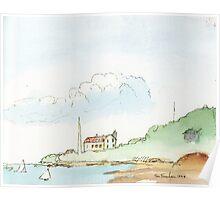 Nobska Lighthouse, Cape Cod Poster