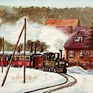 Harz Mountains Narrow Gauge Railway by RainbowDesign
