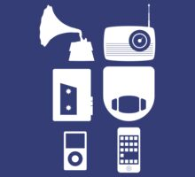 The History Of Portable Music Devices in Six Easy Steps by Paulychilds