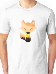Sunrise Fox Unisex T-Shirt
