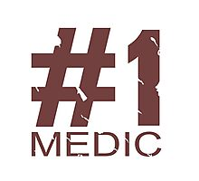 Medic Mug Design Photographic Print