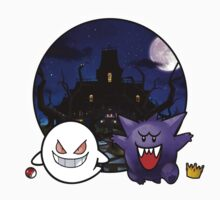 Gengar and Boo Face Swap - Nintendo Haunted House by zeephattony