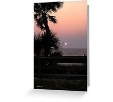 Panama City Beach Pier Greeting Card