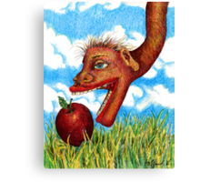 The Snake in the Grass Canvas Print