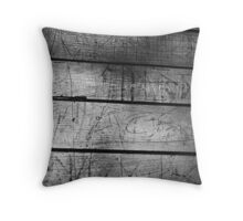 conform - story of wood fourth Throw Pillow