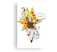 Super Eowyn! Canvas Print