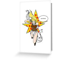 Super Eowyn! Greeting Card