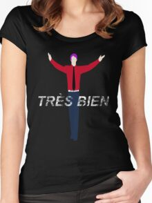 Tres Bien! Tsukiyama Women's Fitted Scoop T-Shirt