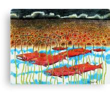 Fish Dream Canvas Print