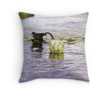 """FETCH it yourself!!"" Throw Pillow"